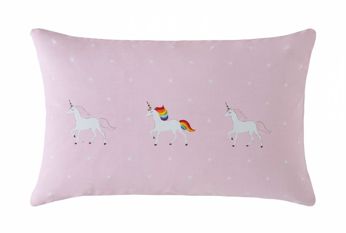 Unicorn Pillowcase Cut Out