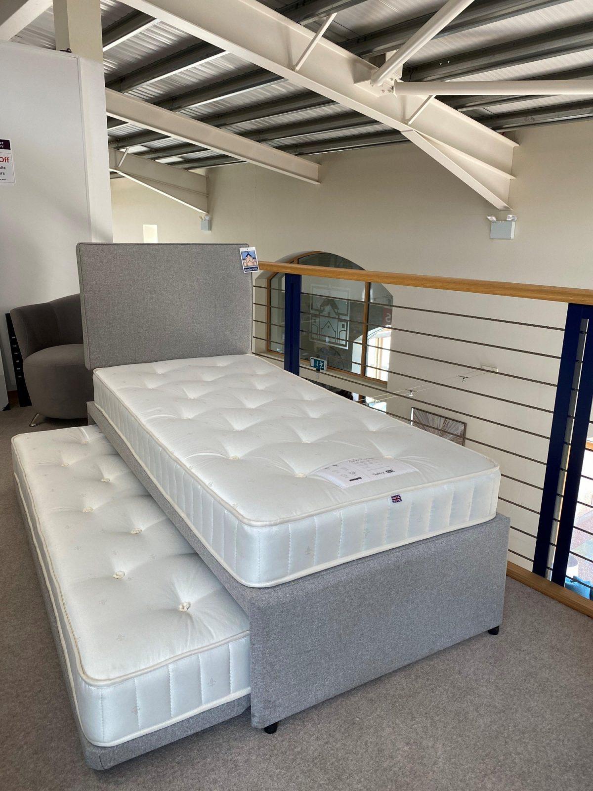 Upholstered Guest Bed Full Side