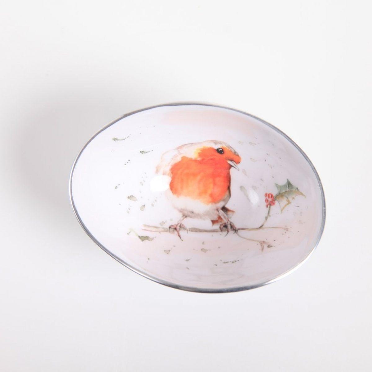Robin holly small bowl