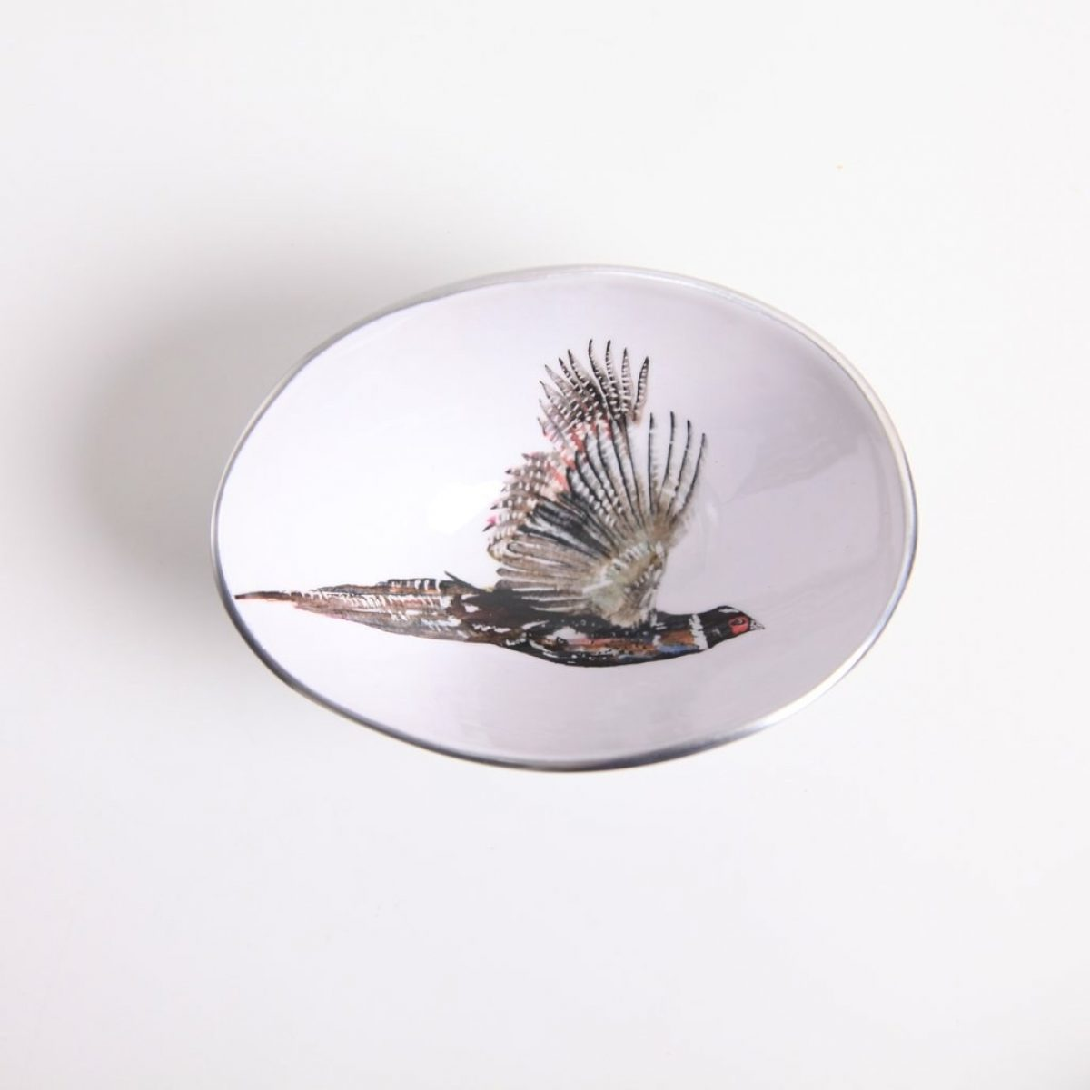 Small pheasent bowl 1
