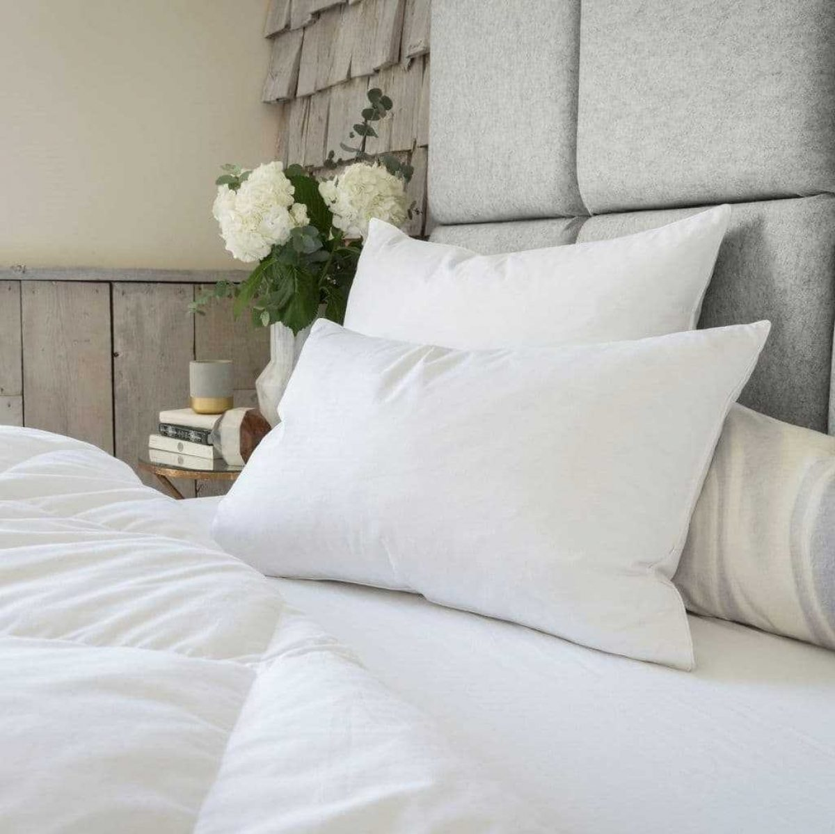 The fine bedding company goose down feather pillow 8112 p