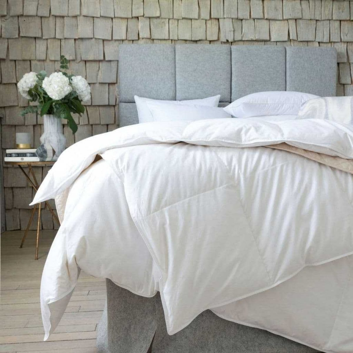 The fine bedding company goose feather down 10 5 tog duvet 8107 p