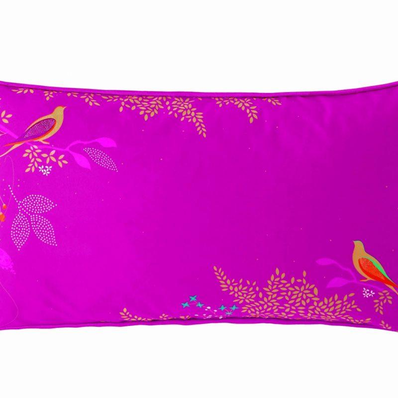 Cerise Birds Cushion 60x30 1