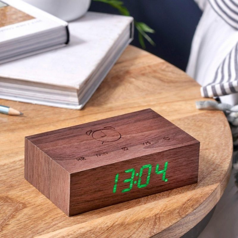 Gingko Flip Click Clock14