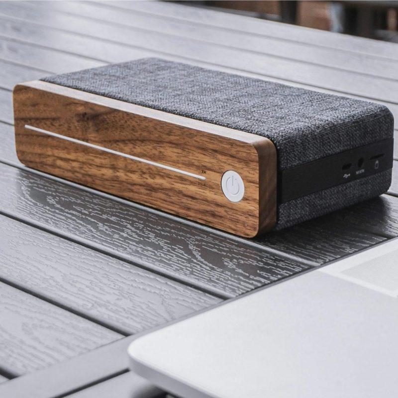 Gingko Hi Fi Square Bluetooth Speaker09