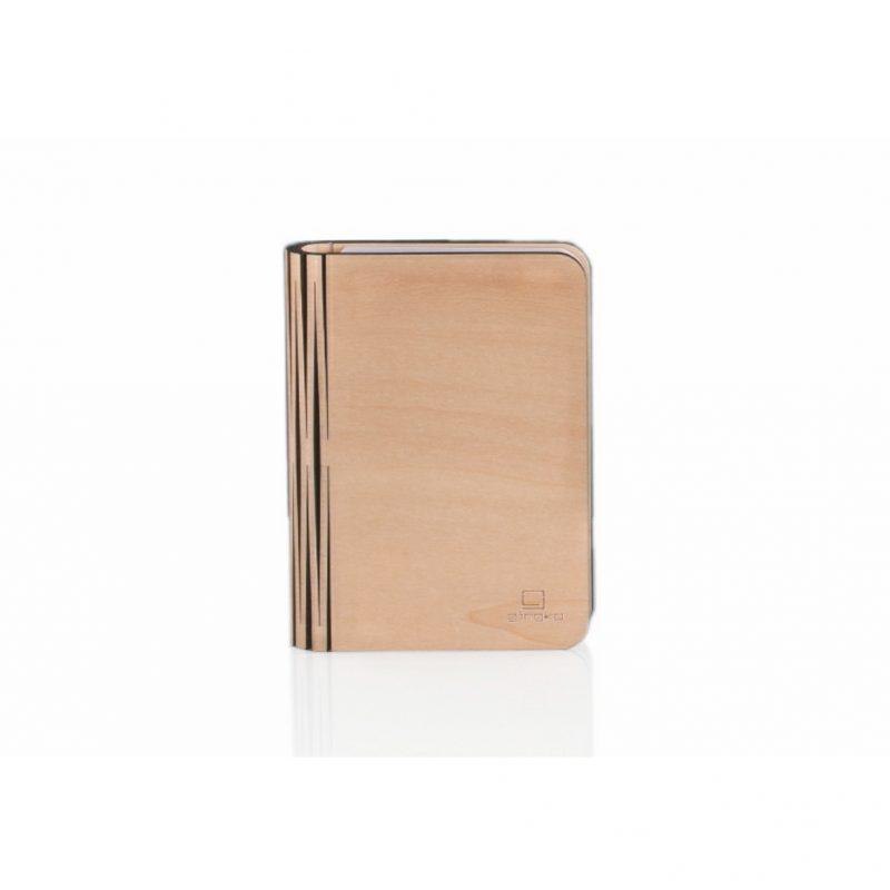 Gingko Smart Book Light Natural Wood10
