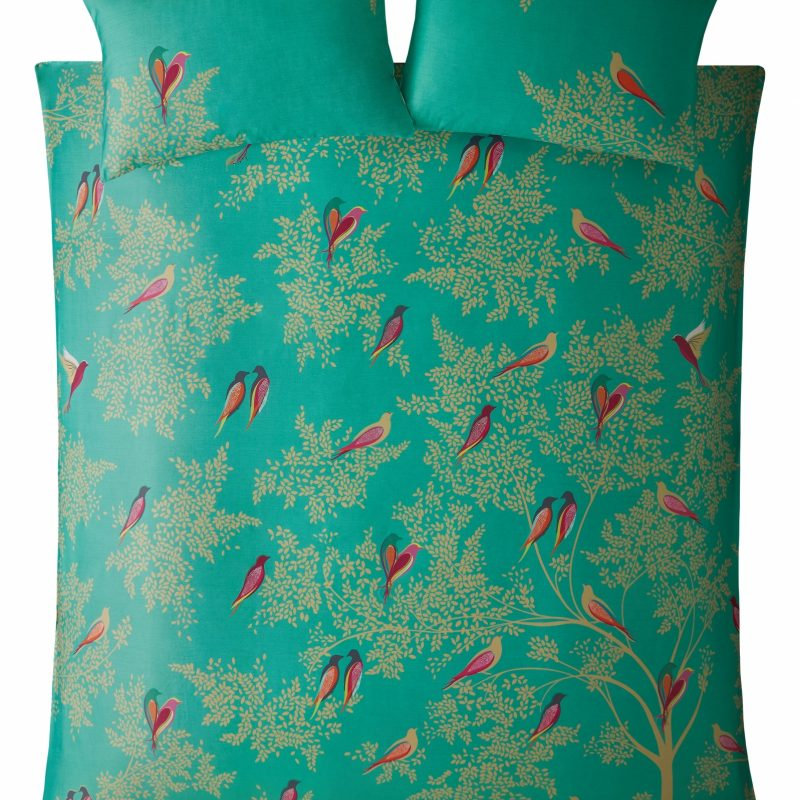 Green Birds Cut Out