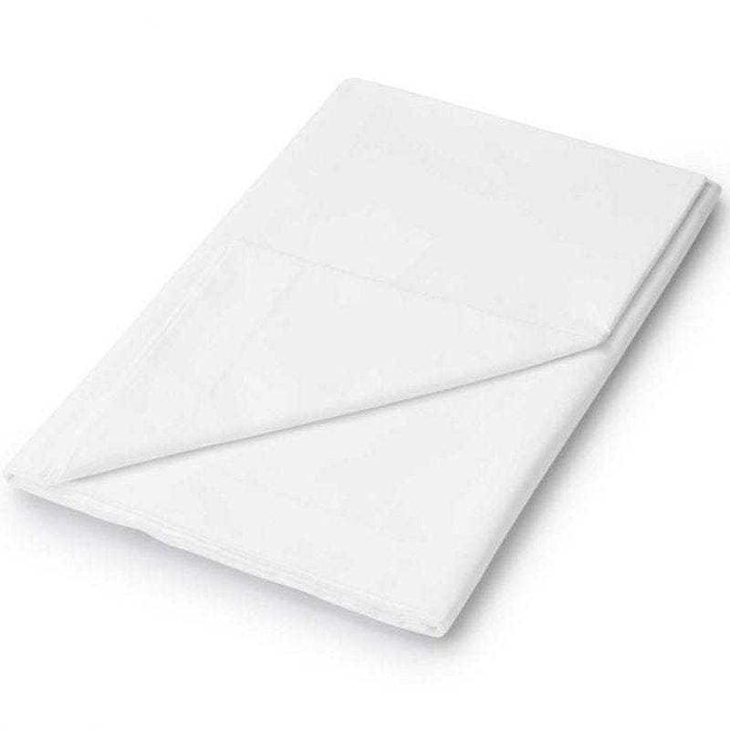 Helena Springfield Flat Fitted Sheet White