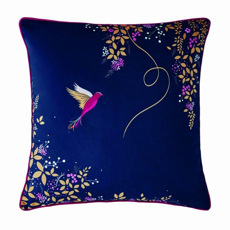 Hummingbird Cushion 50x50 1