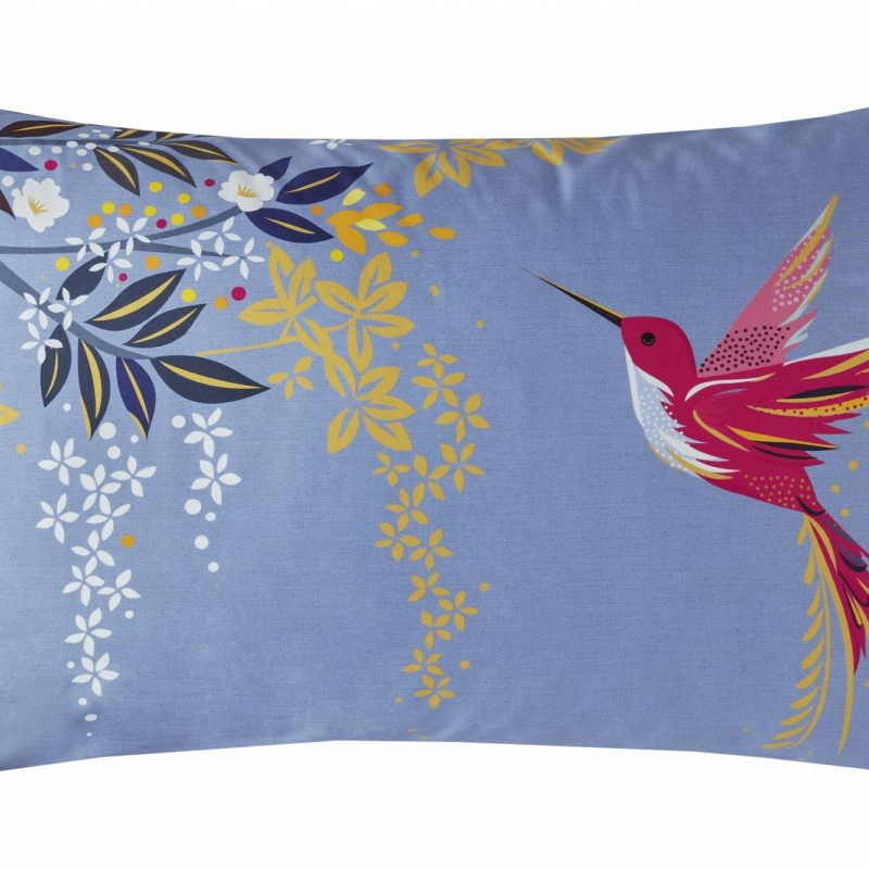 Hummingbird Right Pillowcase Cut Out