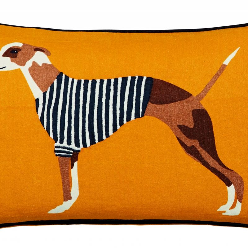 JOULES Harbour Dogs cushion co