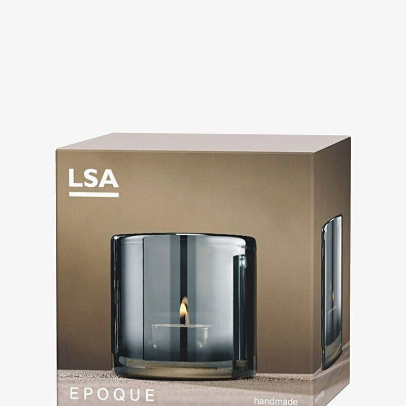 Qpoque saphire tea Light holder 4