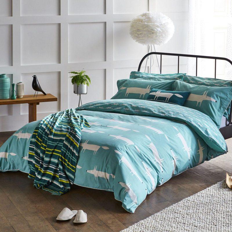 SCION MR FOX TEAL main bed LR