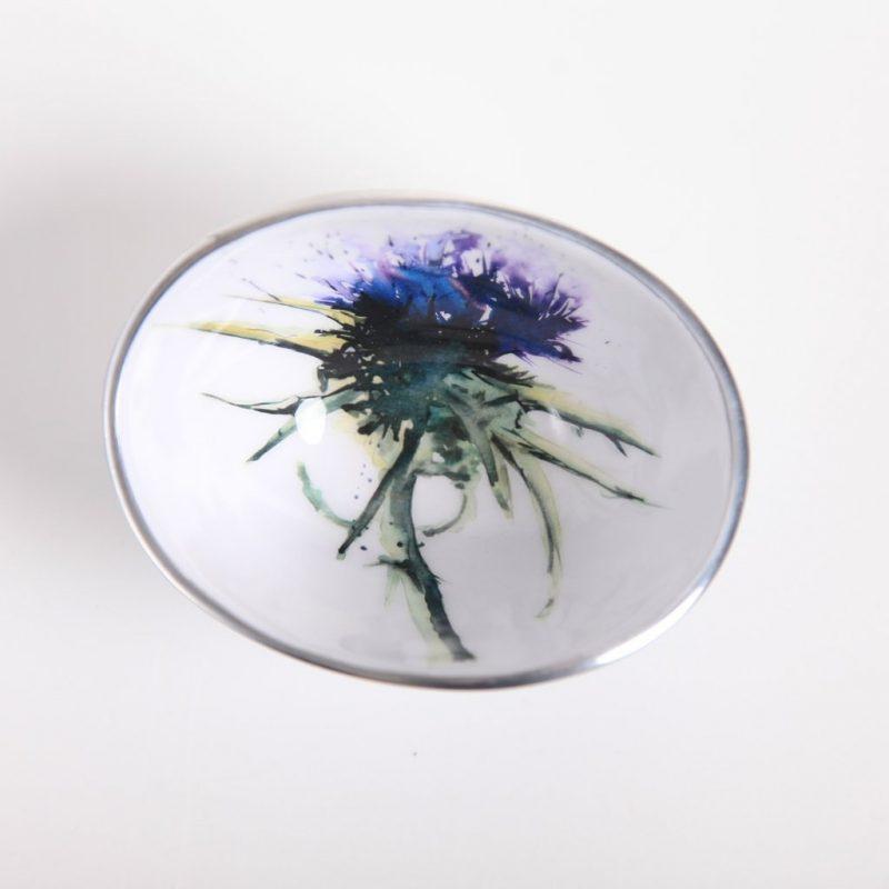 Thistle oval bowl petite 1