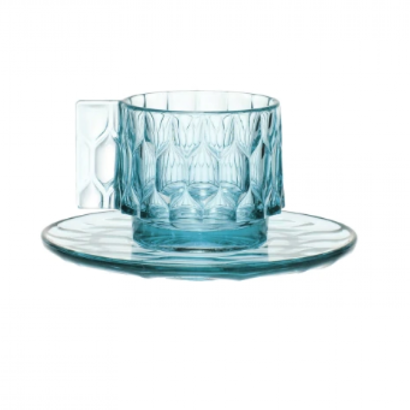 Blue coffee cup 1