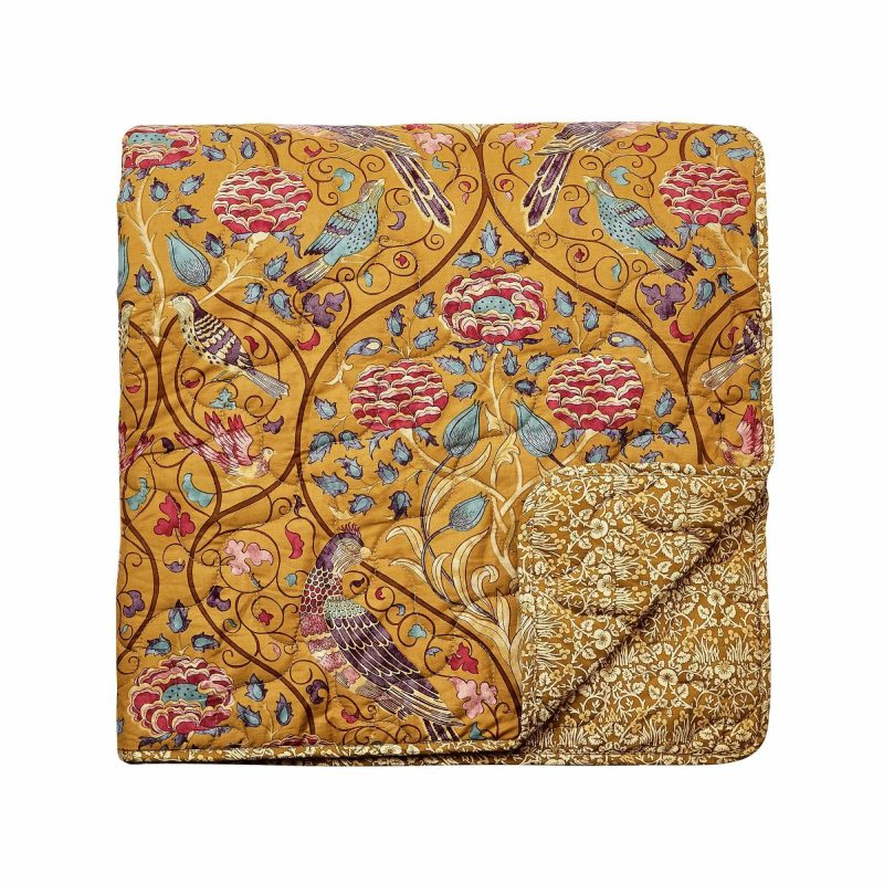 Morris seasons by may quilt bedspread co