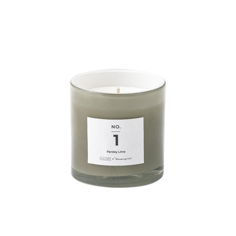 Parsley lime candle 1