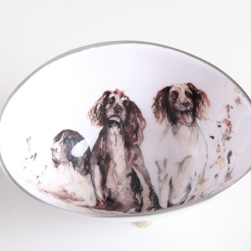Spaniell oval bowl small
