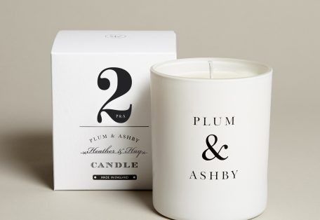 2 Heather Hay Candle