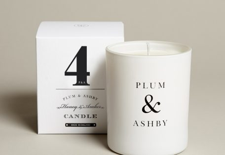 4 Honey Amber Candle