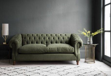 Chiswick 140 Sofabed In Berwick Khaki