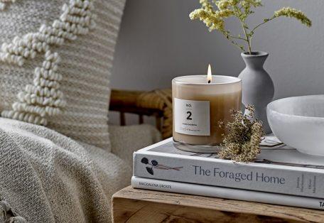 Green gardenia candle 2