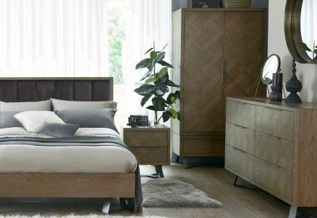 IB bedroom fabric headboard