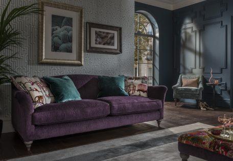 Lamour Grand Sofa Kuba Amethyst B V2