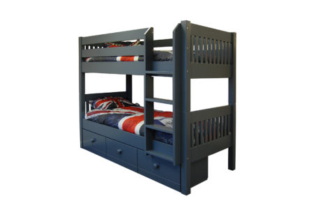 Majestical Bunk Bed Night Sky Slatted With Underdrawers