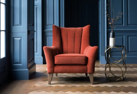 Shoreditch Chair in Bracklyn Auburn