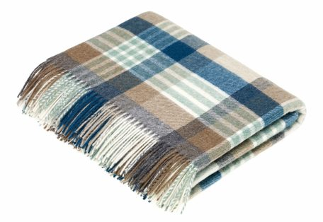 T0359 P09 Lambswool Melbourne Eucalyptus Throw