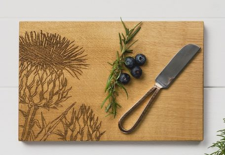 Jssocbkt thistle cheese board and knife set 1 1