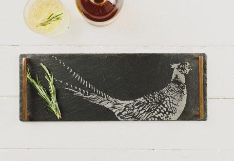 Jsstph small pheasant serving tray 1