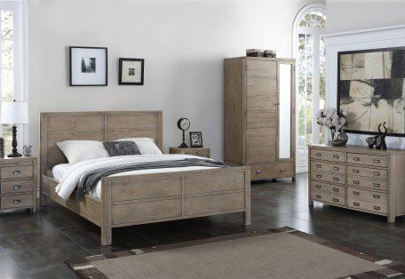 Tempest grey bedroom furniture