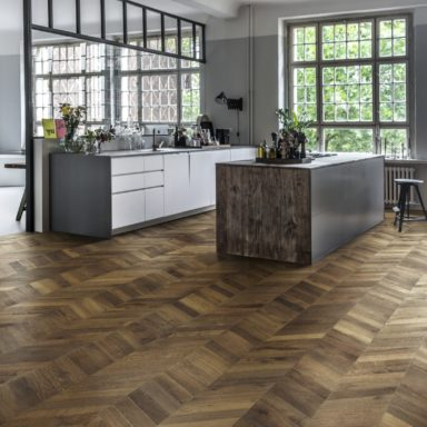 Oak Chevron Dark Brown Int05  5